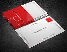 #108 for Print Ready Business Card - GET VERY CREATIVE! by shahnazakter