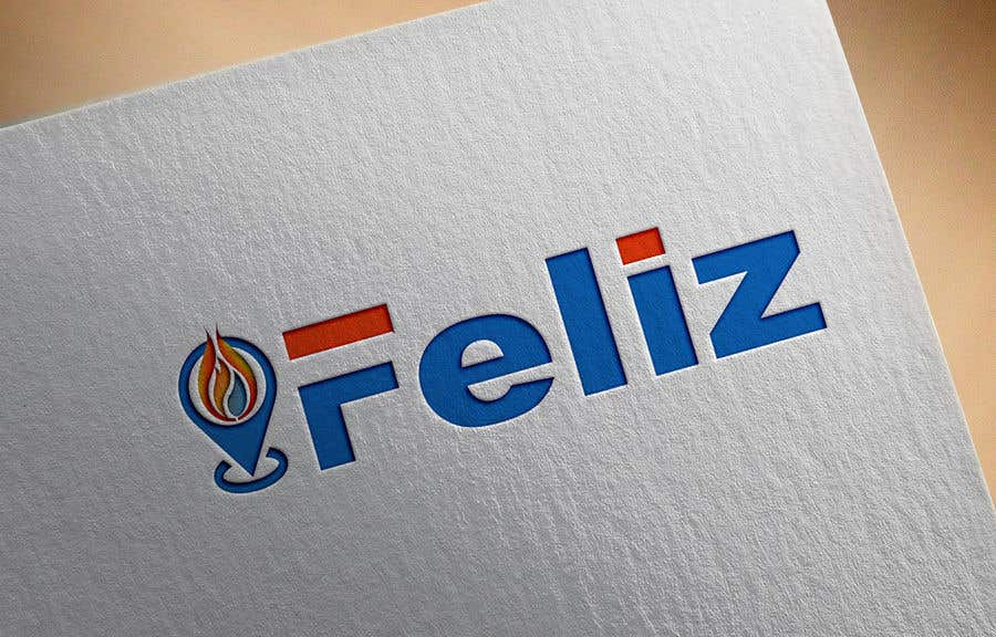 "Kilpailutyö #513 kilpailussa Design Logo to Gas Sation called ""Feliz"""
