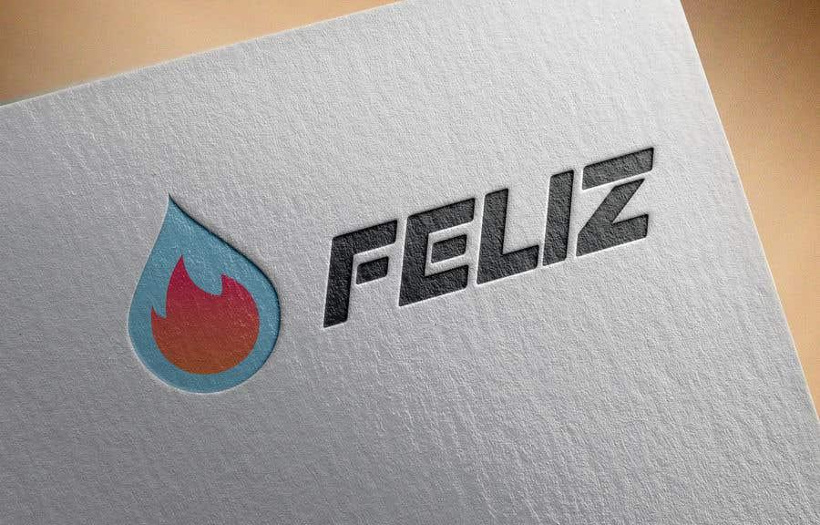 "Kilpailutyö #401 kilpailussa Design Logo to Gas Sation called ""Feliz"""