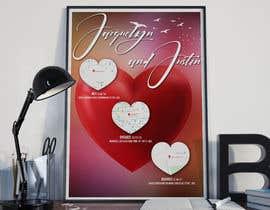 Nro 36 kilpailuun wedding poster käyttäjältä jlangarita