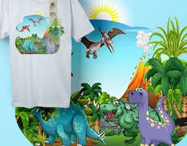 #77 para Dinosaur design for clothes de creativeshathy