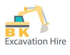 Nro 25 kilpailuun Logo Design for excavation hire business käyttäjältä misakib