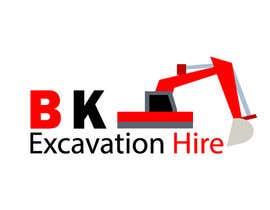 Nro 34 kilpailuun Logo Design for excavation hire business käyttäjältä misakib