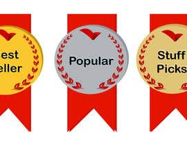 "#29 for ""Best Seller"", ""Staff Picks"" and ""Popular"" Badges for website products af paulall"