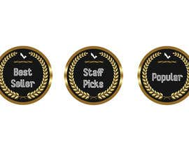 "#26 for ""Best Seller"", ""Staff Picks"" and ""Popular"" Badges for website products af BDIW98"