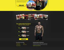 #7 para Design a Website Mockup for shirtlessmovers.com por tania06