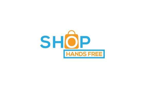 Penyertaan Peraduan #71 untuk Shop Hands Free logo
