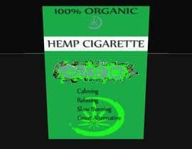 Nro 90 kilpailuun Hemp Cigarettes Packaging käyttäjältä sonnybautista143