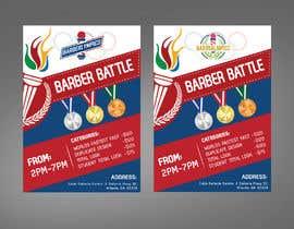 Nro 35 kilpailuun event flyer barber battle käyttäjältä moslehu13
