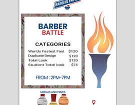 Nro 50 kilpailuun event flyer barber battle käyttäjältä Jakaria76