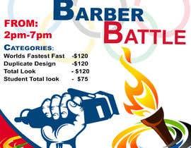 Nro 59 kilpailuun event flyer barber battle käyttäjältä AbdullahDesign24