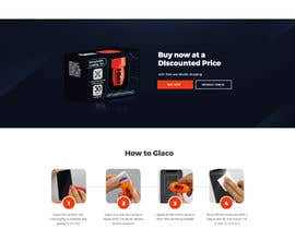 #25 untuk Design a landing page to sell one product: oleophobic touchscreen coating oleh leandeganos