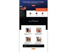 #12 untuk Design a landing page to sell one product: oleophobic touchscreen coating oleh protimakhan7