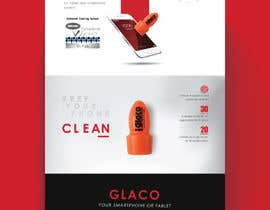 #14 untuk Design a landing page to sell one product: oleophobic touchscreen coating oleh Nathasia00