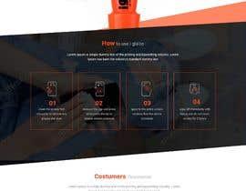 #17 untuk Design a landing page to sell one product: oleophobic touchscreen coating oleh lacrymosh