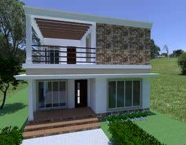 #23 для Draw 2D Elevation for a residential building от RosaEjeZ