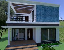 #24 untuk Draw 2D Elevation for a residential building oleh RosaEjeZ