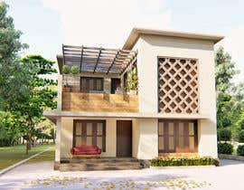 #8 для Draw 2D Elevation for a residential building от eldhojose