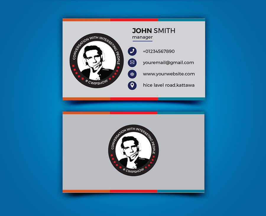 Penyertaan Peraduan #17 untuk #cwipshow logo 2, business card (two sided) and letter head / Flyer design