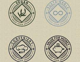 #48 untuk Logo stamp design oleh bugrahansezgin