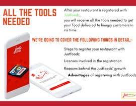 Nro 4 kilpailuun Customize document for presentation of food delivery app käyttäjältä hosamh3