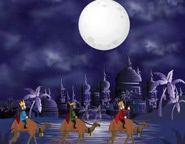 nº 5 pour Illustration of three wise men on camels par MuhammdUsman