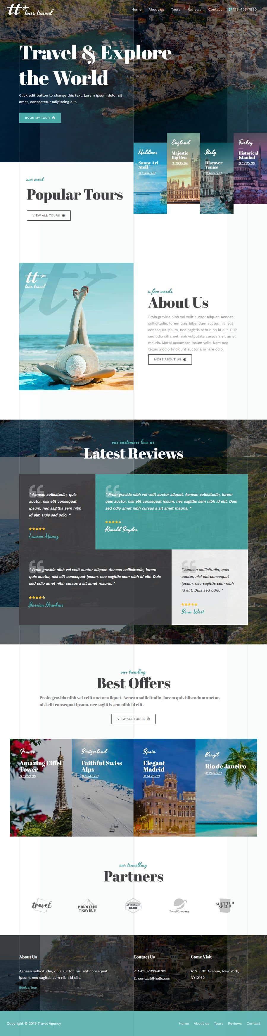 Penyertaan Peraduan #20 untuk Build a tour guide website