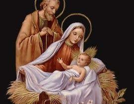 Nro 17 kilpailuun Illustration of Nativity scene with three faces (portrait work) käyttäjältä MdArif61