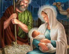 Nro 19 kilpailuun Illustration of Nativity scene with three faces (portrait work) käyttäjältä MdArif61