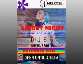 alamin3353 tarafından Flyer for DJ Party for Social Media Quickly and Poster Dimensions 457 × 610mm. için no 10