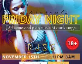 SyedRajib tarafından Flyer for DJ Party for Social Media Quickly and Poster Dimensions 457 × 610mm. için no 8