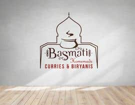 """#22 cho I need a logo designed for my new indian restaurant name """"Basmati"""" and in small below the name """"homemade curries & biryanis"""" bởi Shuvro1993"""