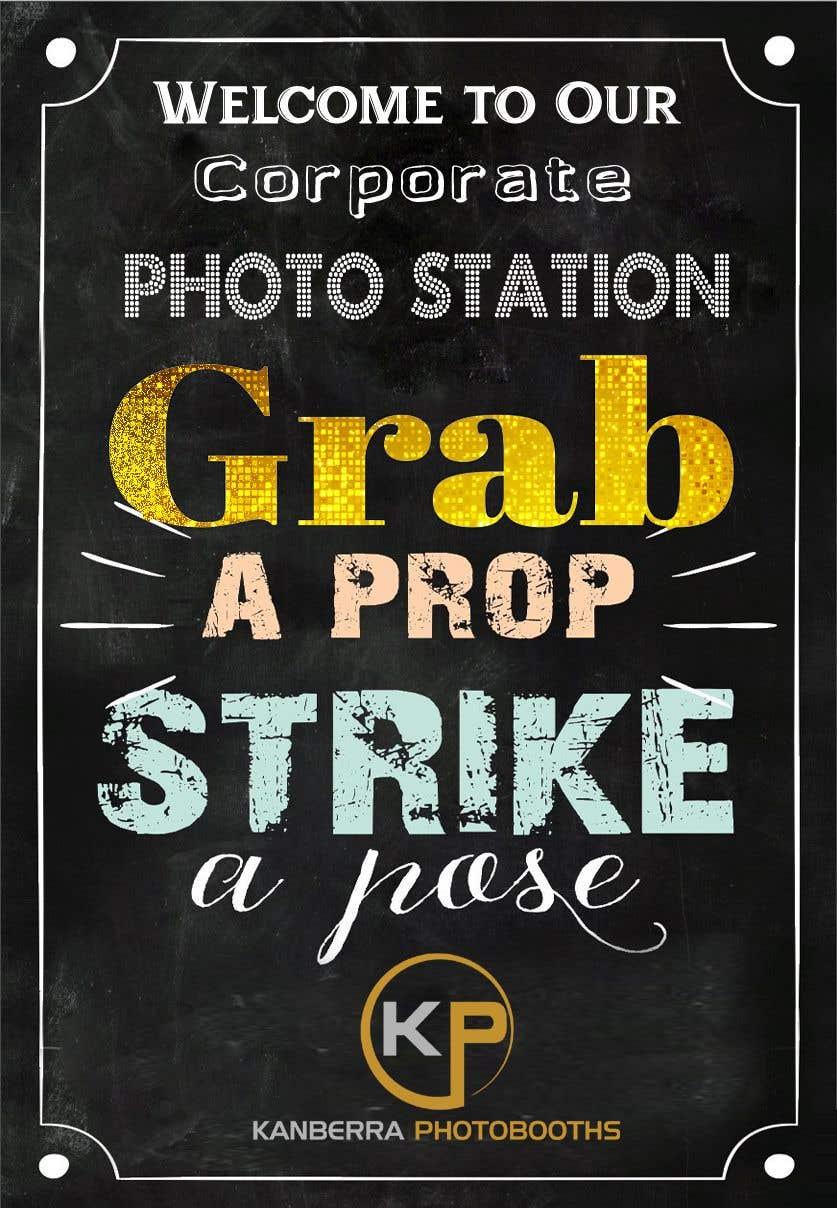 Zgłoszenie konkursowe o numerze #8 do konkursu o nazwie Photo Booth Poster