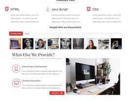 nº 5 pour Build a website par zahiduzzamanpran