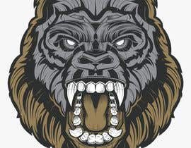 #15 for Logo design of a Gorilla Face af nurshazleennm