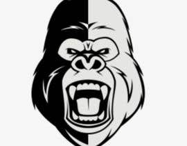 #16 for Logo design of a Gorilla Face af nurshazleennm