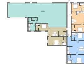 nº 28 pour Floor plan for small mixed-use building par nkaritovich