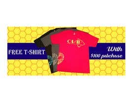 #115 for Free T-Shirt banner by srmon