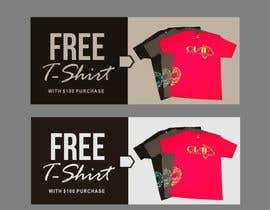 #32 for Free T-Shirt banner by ConceptGRAPHIC