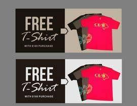 #32 cho Free T-Shirt banner bởi ConceptGRAPHIC