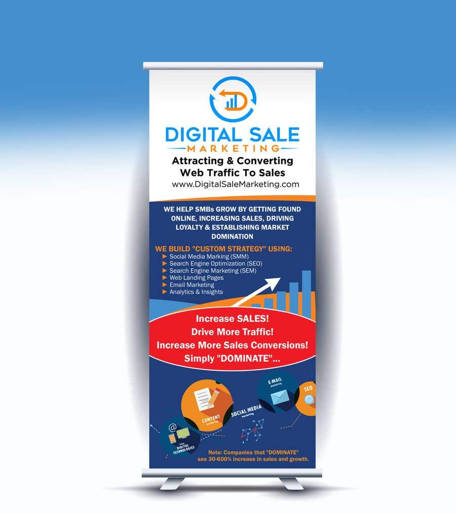 Proposition n°20 du concours Pull Up Banner Design For Digital Marketing Agency