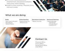 "vivekdaneapen tarafından Design me a front page of a Corporate Website ""Balance"". Winner get a 400$ whole project! için no 15"