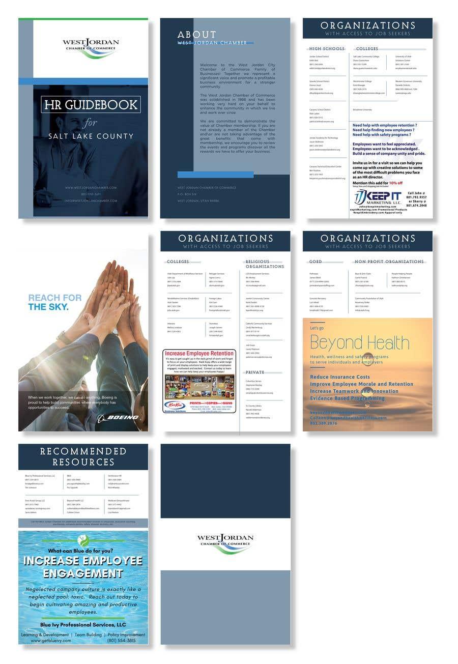 Konkurrenceindlæg #6 for Design a Booklet - HR Resource Guide