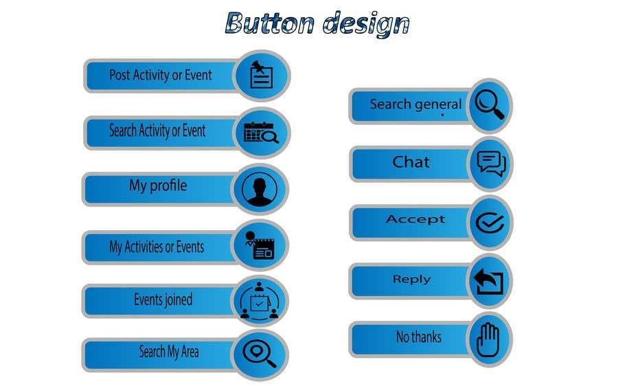 Penyertaan Peraduan #19 untuk Button Images for Mobile Application