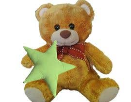 #2 for I need these teddy bears customise for the supporters of our crowdfunding campaign (see www.greenstars.eco). Come up with a cool design (and text) for the front of the star (change the teddy with a heart to a teddy holding a star) and base of the right fo by syafa97