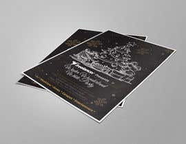#212 untuk Create a flyer / invitation for our company Christmas Party - Contest oleh designmenia