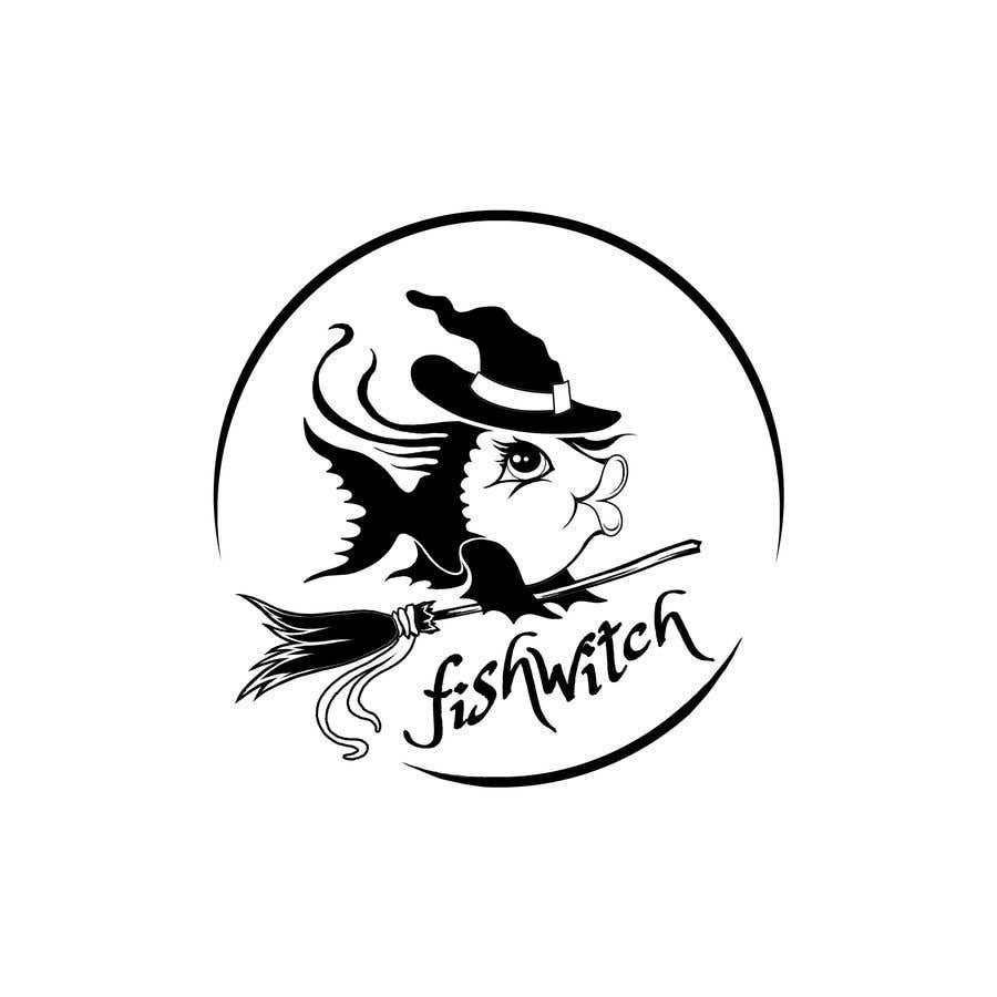 Penyertaan Peraduan #71 untuk Fishwitch Logo/Illustration