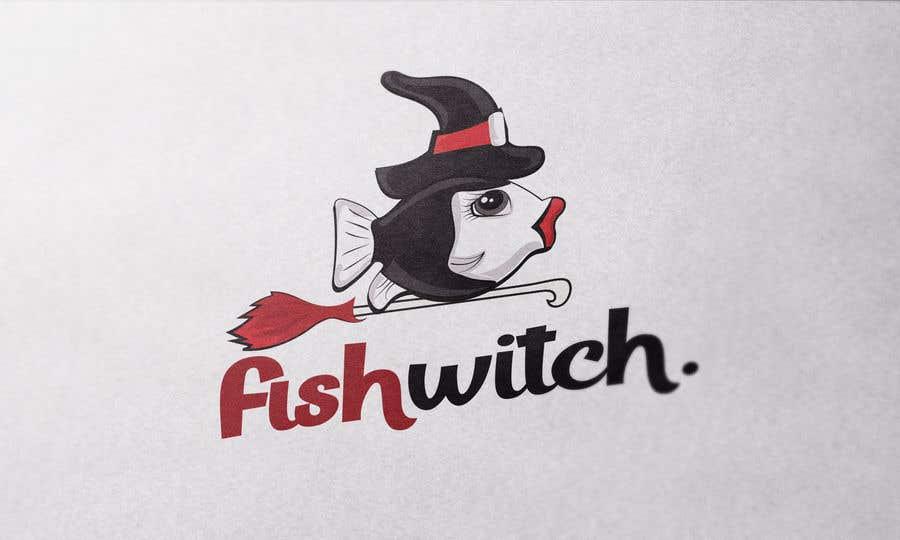 Penyertaan Peraduan #47 untuk Fishwitch Logo/Illustration