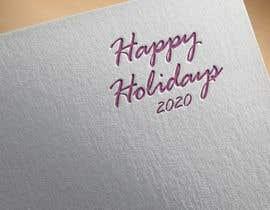 "#52 для ""Happy Holidays 2020""- graphic with machines от DesignInverter"