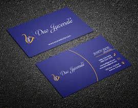 jamshedmafia tarafından Make a business card for musical duo için no 73